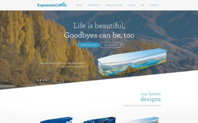 Design your own Expression Coffin on our new website