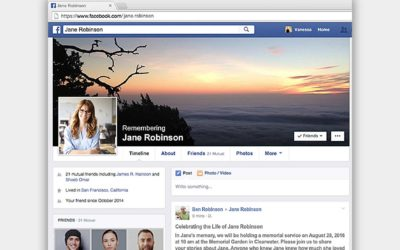 The 5 benefits to family and friends of 'memorialising' their loved one's Facebook account