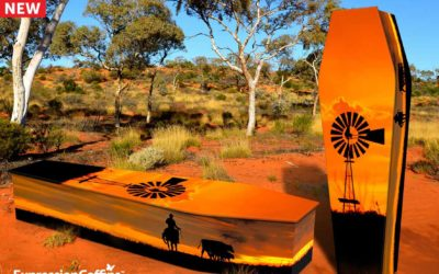 Our new Stockman Expression Coffin