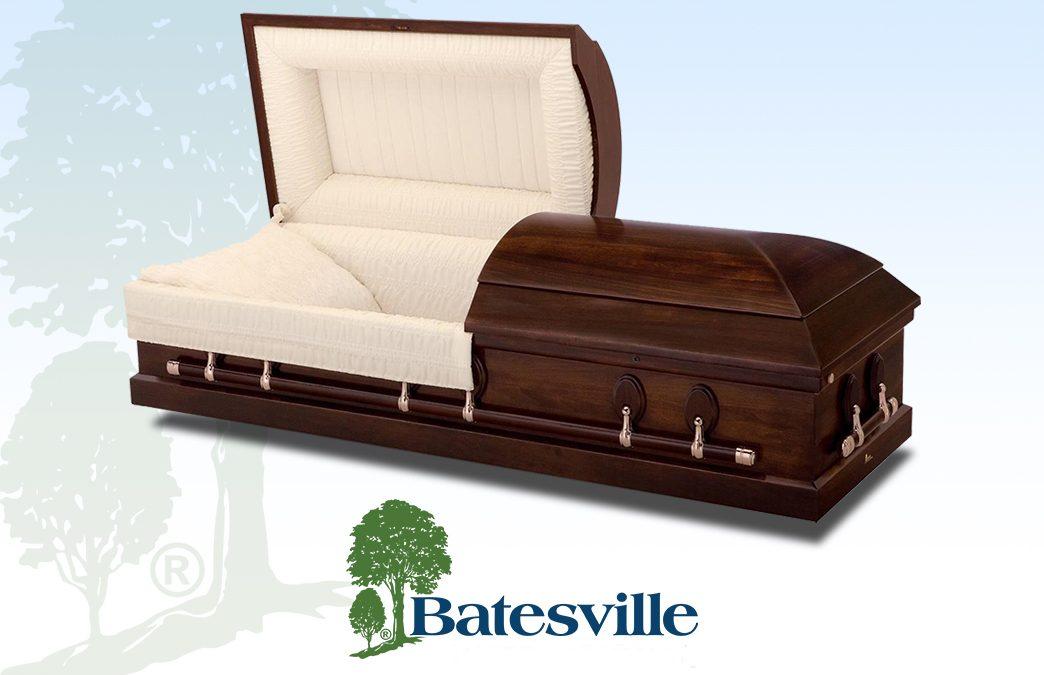 New Batesville caskets: Chestnut & Liberty